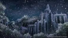 大圣堂前广场(夜雪)