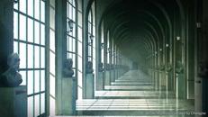 王城内部走廊