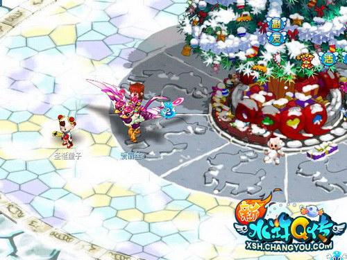 冬季雪景,缤纷活动