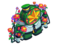 家具:鲜花致敬