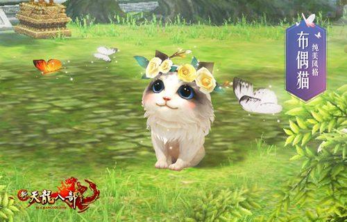 最新入驻庄园的将是活泼好动的猫咪一族