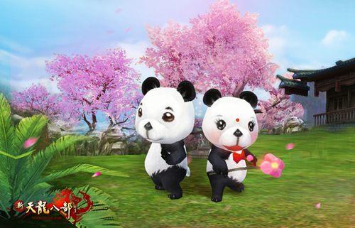 稀有珍兽熊猫双侠