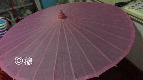 空无一物的基础伞面