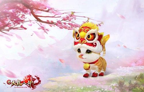 庄园宠物金狮短绒猫