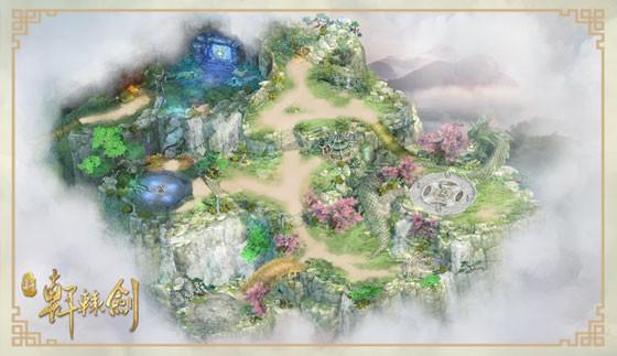 在原作基础上绘制完整的伏魔山